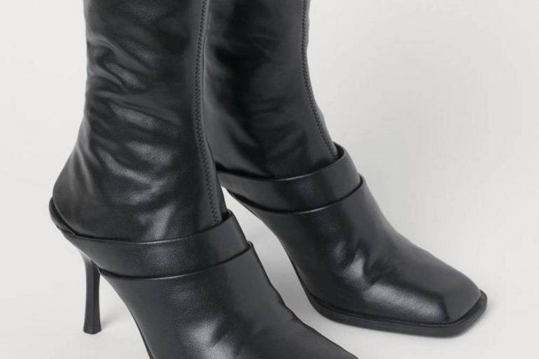 Estamos En Shock Con El Ultimo Invento De H M Unas Botas Que Se Convierten En Mules Calzado  2 X 1