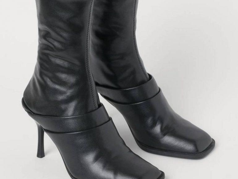 Estamos En Shock Con El Ultimo Invento De H M Unas Botas Que Se Convierten En Mules Calzado 2 X 1 - Empresas Calzado, Cuero