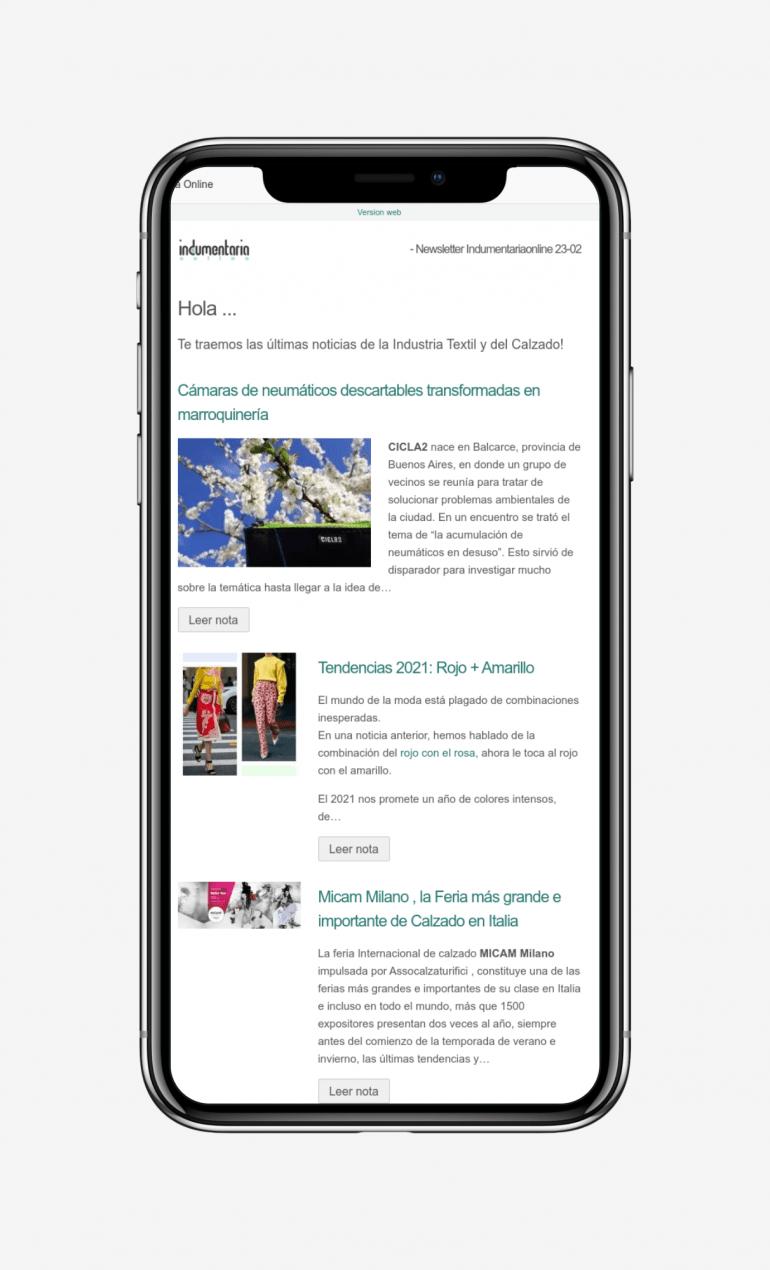 Newsletter Indumentaria Online 4 Iphone X Newsletter Indumentariaonline- Novedades Del Sector Textil Y Calzado - Noticias Breves
