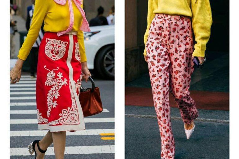 Ama 2 Tendencias 2021: Rojo + Amarillo - Moda