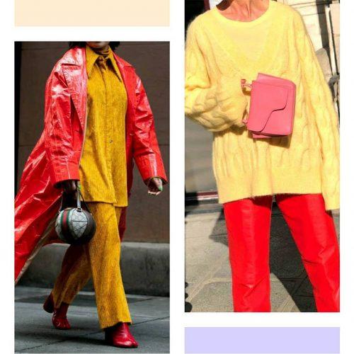 Ama 4 Tendencias 2021: Rojo + Amarillo - Tendencias 2021/2022 En Textil E Indumentaria