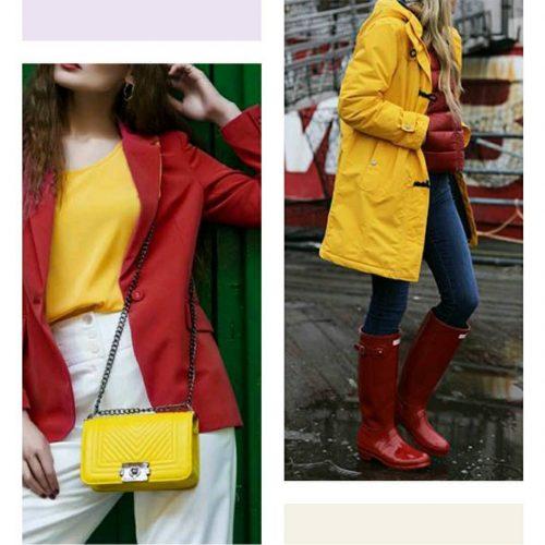 Ama 7 Tendencias 2021: Rojo + Amarillo - Tendencias 2021/2022 En Textil E Indumentaria