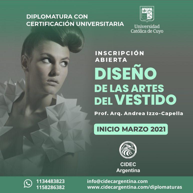 Diplomatura Diseño De Las Artes Del Vestido - Noticias Breves