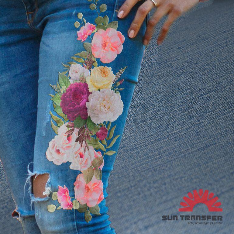 Jeans 2 Estampas Transfer Para Jeans - Noticias Breves