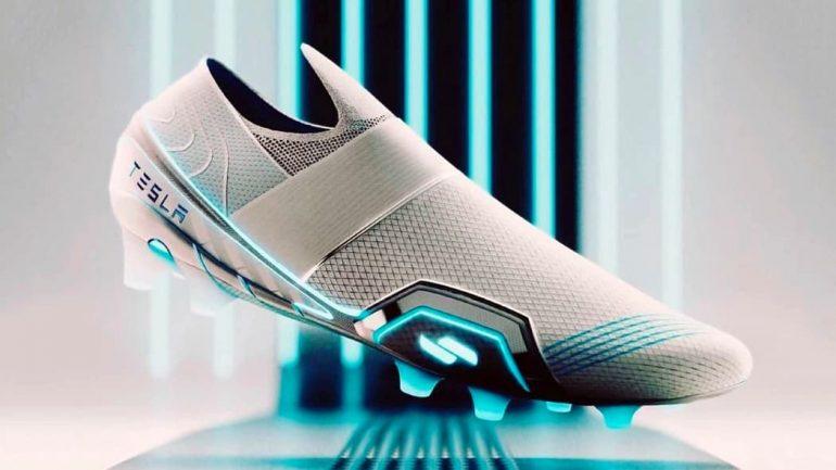 Zapatillas Tesla El Ex Diseñador De Nike Y Adidas Mostró Botines De Fútbol Tesla