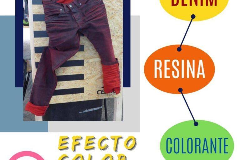 Efecto Color: Denim / Resina / Colorante  (Parte 2)