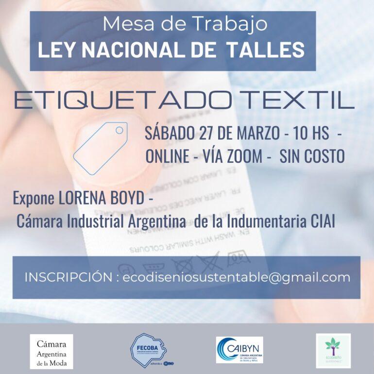Etiquetado Textil