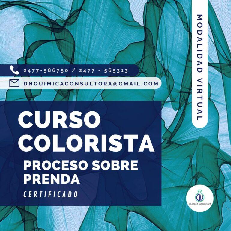 Curso De Colorista Textil