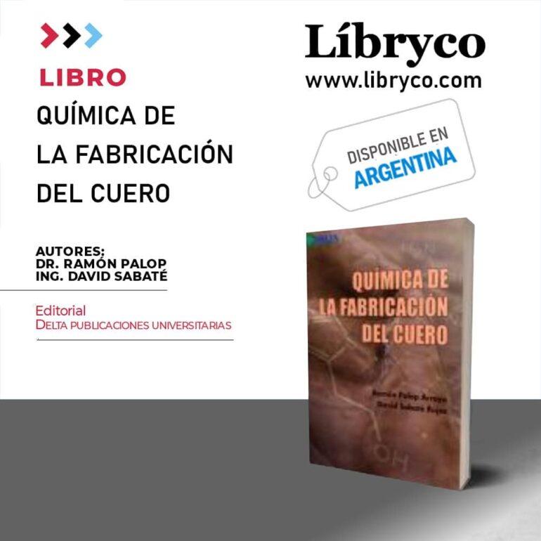 Libro &Quot;Química De La Fabricación Del Cuero&Quot;