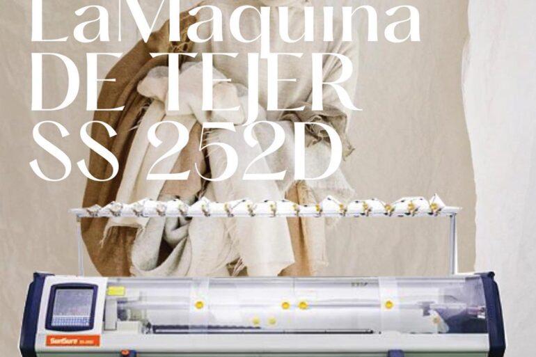 Maquina De Tejer Máquina De Tejer Ss 252D De Alto Rendimiento. - Maquinas Textiles