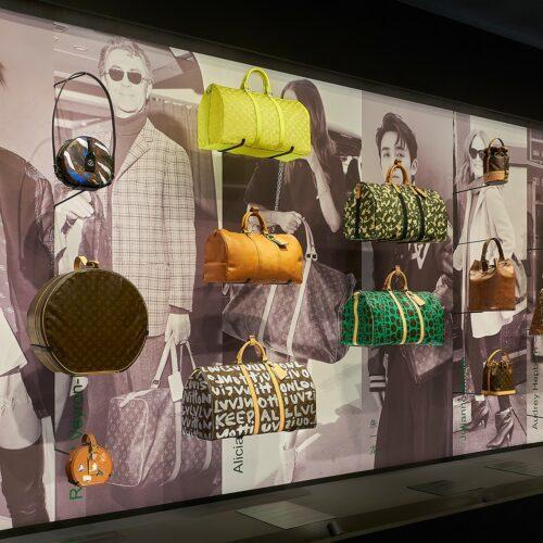 Louis Vuitton 1 Louis Vuitton Expone Creaciones Icónicas En Cuero - Moda Y Diseñadores Calzado, Cuero
