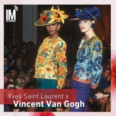 Moda: Yves Saint Laurent Por Vincent Van Gogh