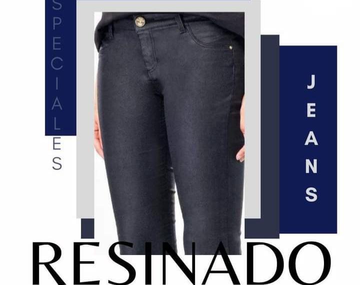 Tratamientos Especiales Para Jeans: Resinado