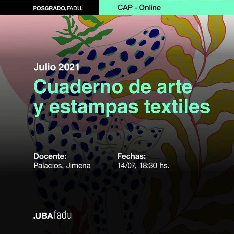 Borrador Automatico 3 Cuaderno De Arte Y Estampas Textiles - Noticias Breves