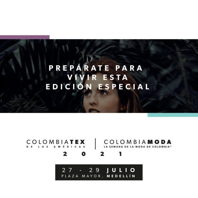 Colombiamoda Colombiatex De Las Américas Y Colombiamoda ,En Formato Omnicanal - Eventos Textil E Indumentaria