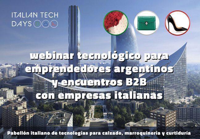Italian Tech Days Tecnologias Para Calzadomarroquineria Y Curtiduria Italian Tech Days, Tecnologías Para Calzado,Marroquinería Y Curtiduría - Empresas Calzado, Cuero