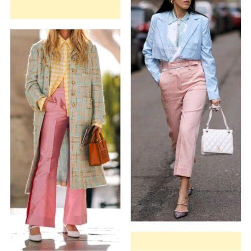 Tendencias 2021 22 El Pantalon Rosa 2 Tendencias 2021/22: El Pantalón Rosa - Tendencias 2021/2022 En Textil E Indumentaria
