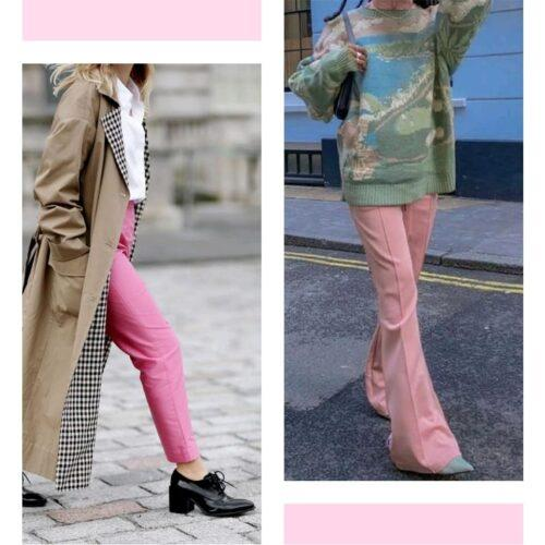 Tendencias 2021 22 El Pantalon Rosa 3 Tendencias 2021/22: El Pantalón Rosa - Tendencias 2021/2022 En Textil E Indumentaria