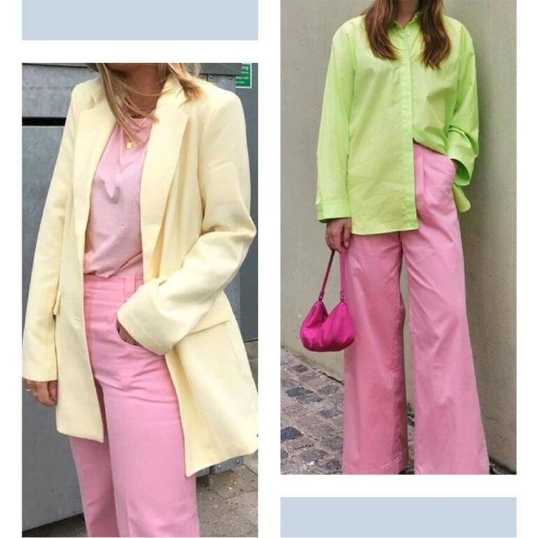 Tendencias 2021 22 El Pantalon Rosa 5 Tendencias 2021/22: El Pantalón Rosa - Tendencias 2021/2022 En Textil E Indumentaria