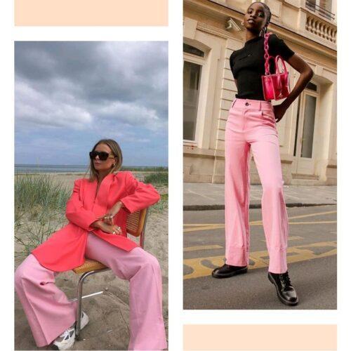 Tendencias 2021 22 El Pantalon Rosa Tendencias 2021/22: El Pantalón Rosa - Tendencias 2021/2022 En Textil E Indumentaria