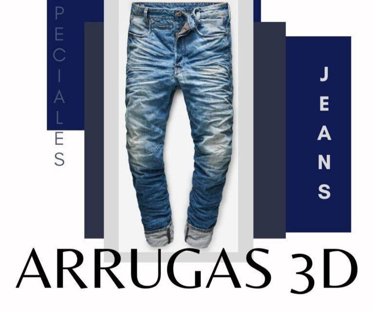 Tratamientos Para Jeans Arrugas 3D 1 Tratamientos Especiales Para Jeans: Arrugas 3D - Empresas Textiles