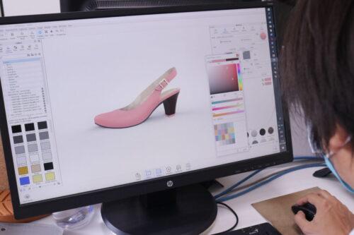 Render De Calzado 2 Tecnología 3D En La Industria Del Calzado - Máquinas Calzado/Cuero