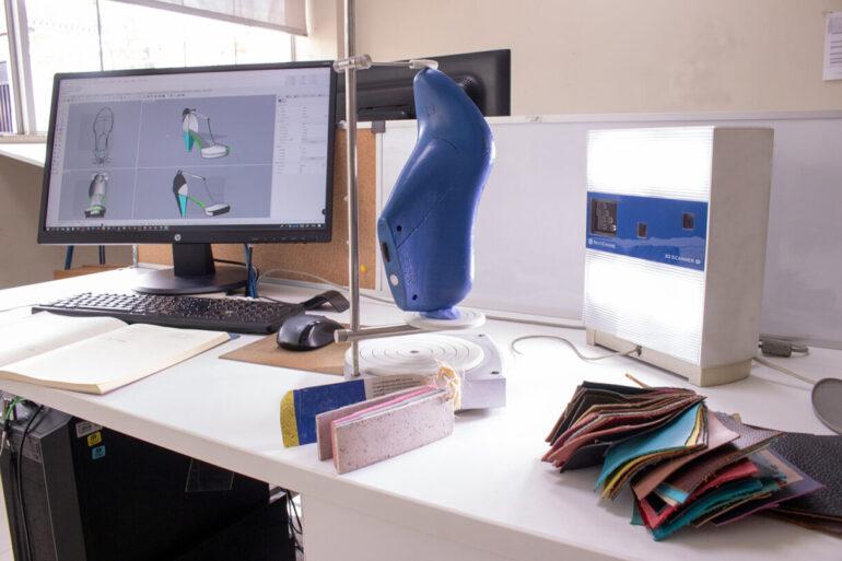 Renders De Calzado Tecnología 3D En La Industria Del Calzado - Máquinas Calzado/Cuero