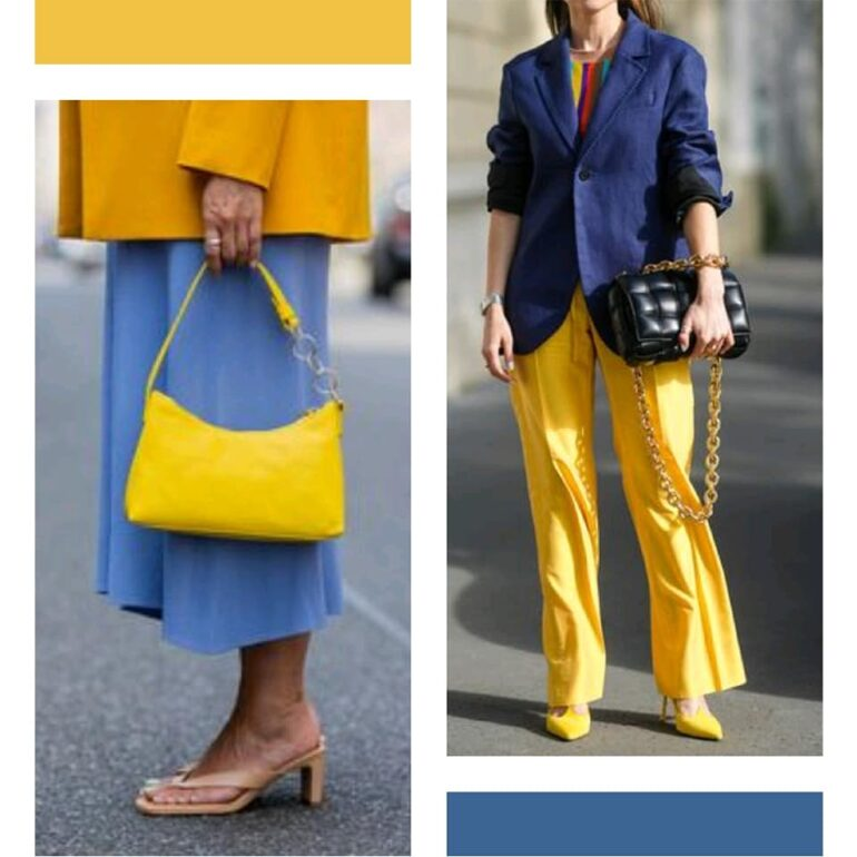 Celestes Tendencias 2022: Colores Azul/Celeste + Amarillo - Tendencias 2021/2022 En Textil E Indumentaria