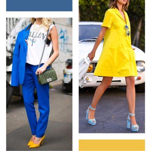 Celestes 8 Tendencias 2022: Colores Azul/Celeste + Amarillo - Tendencias 2021/2022 En Textil E Indumentaria