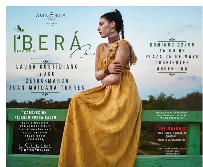 20210813 201430 Ibera Chic, El Evento De Diseñadores Correntinos - Eventos Textil E Indumentaria