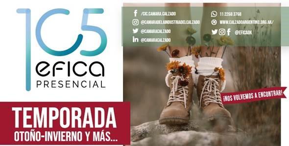 Img 20210823 Wa0086 Vuelve Efica Presencial, El Evento Del Calzado Argentino - Eventos Calzado, Cuero