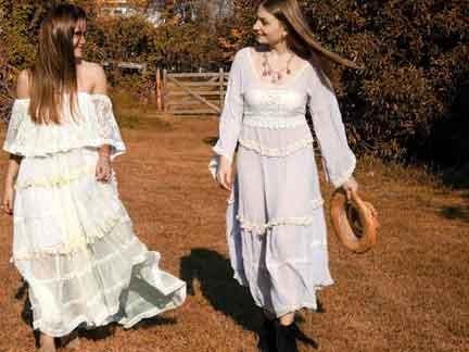 Carola Cornejo 2 Una Marca Sustentable Con Prendas Bohemias Y Románticas - Moda Y Diseñadores Textil E Indumentaria