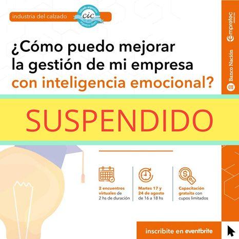 Image004 Capacitación En Inteligencia Emocional Suspendida - Noticias Breves