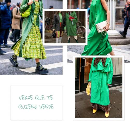 Verde 3 Tendencias 2022: Verde Que Te Quiero Verde - Moda Y Diseñadores Textil E Indumentaria