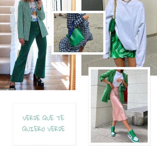 Verde 4 Tendencias 2022: Verde Que Te Quiero Verde - Moda Y Diseñadores Textil E Indumentaria