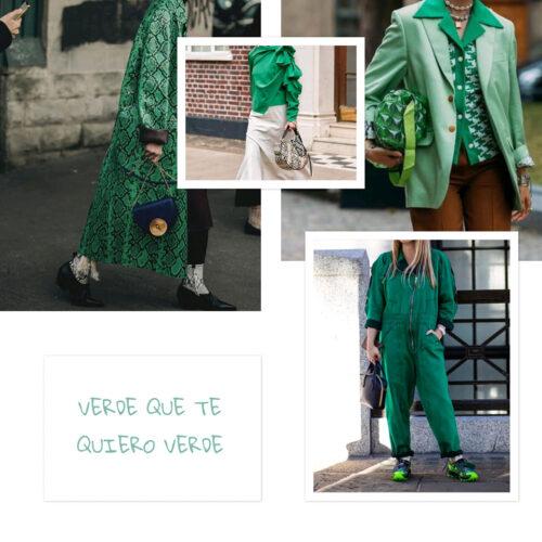 Verde 9 Tendencias 2022: Verde Que Te Quiero Verde - Moda Y Diseñadores Textil E Indumentaria
