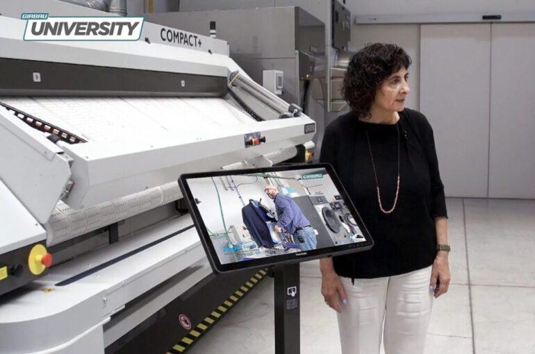 Foto 2 Girbau University, Ofrece Formación Online En Lavandería - Máquinas Textiles