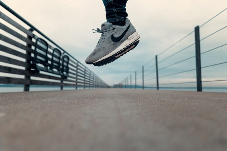 Nike Gas Zapatillas De Nike Hechas De Gas - Empresas Calzado, Cuero