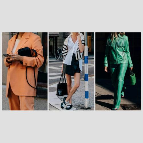 Street 8 Tendencias 2022: Streetstyles De Las Semanas De La Moda - Tendencias 2021/2022 En Textil E Indumentaria