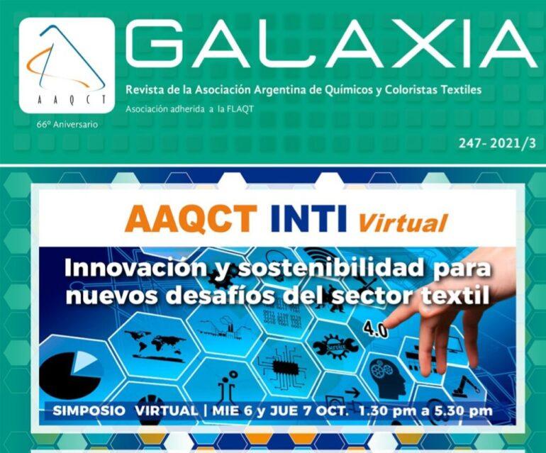 20211001 120343 Galaxia, Revista De La Asociación Argentina De Químicos Y Coloristas Textiles - Noticias Breves
