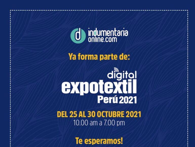 20211001 165819 Expotextil Perú : Vuelve La Feria De Proveedores Textiles - Eventos Textil E Indumentaria