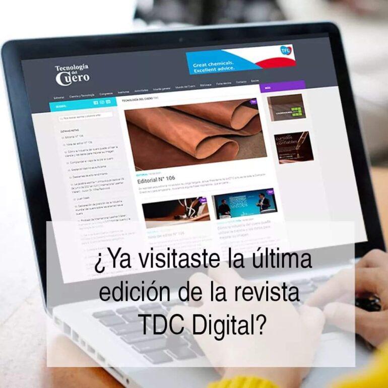 Img 20211006 Wa0112 Ya Visitaste La Última Edición De Tecnología Del Cuero? - Noticias Breves