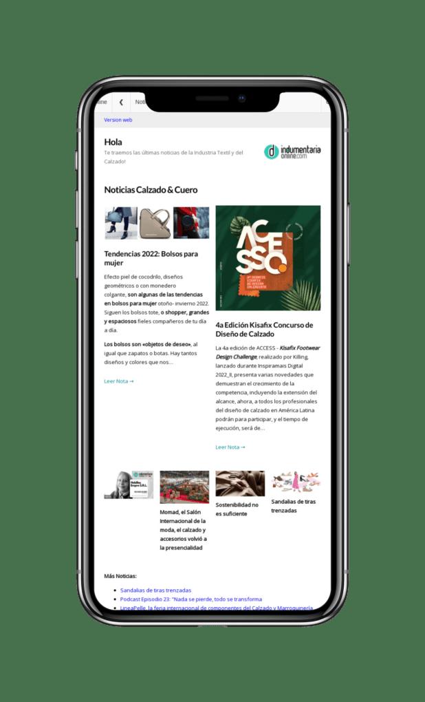 News Final Newsletter Indumentaria Online De Noticias De Textil Indumentaria Y Calzado Cuero - Noticias Breves